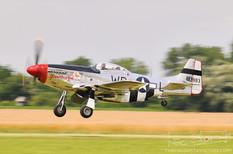 Geneseo Airshow - 2009  North American P-51D Mustang 'Glamorous Gal'