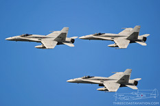 Centennial of Naval Aviation - Naval Air Station North Island  McDonnell Douglas F/A-18C Hornet  VMFA-314 Black Knights - United States Marine Corps