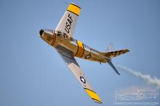 Thunder Over Michigan - 2012  North American F-86F Sabre  Warbird Heritage Foundation