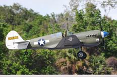 TICO Warbird Airshow - 2012  Curtiss Wright P-40N Warhawk