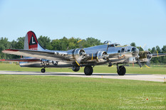 Thunder Over Michigan - 2013  Boeing B-17G Flying Fortress 'Yankee Lady'  Yankee Air Museum