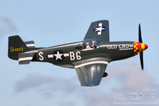 Thunder Over Michigan - 2009  North American P-51B Mustang 'Old Crow'  Jack Roush