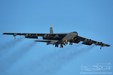 Nellis AFB - Mar 11, 2020  Boeing B-52H Stratofortress  69th Bomb Squadron 'Knighthawks' - United States Air Force