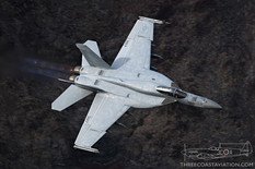 Star Wars Canyon - Dec 4, 2018  Boeing F/A-18E Super Hornet  VFA-86 Sidewinders - United States Navy
