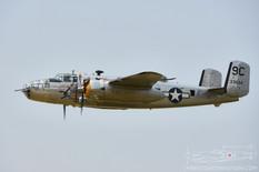 Thunder Over Michigan - 2014  North American B-25D Mitchell 'Yankee Warrior'  Yankee Air Museum