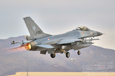 Red Flag 13-2  General Dynamics F-16A Fighting Falcon  Royal Netherlands Air Force