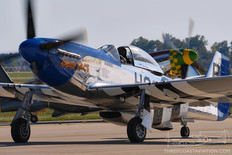 Gathering of Mustangs & Legends - 2007  North American P-51D Mustang 'Sweetie Face'