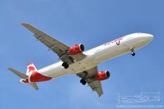 CYYZ - Jun 23, 2019  Airbus A321  Air Canada Rouge