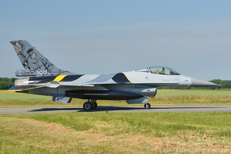 Tactical Weapons Meet - 2017 - F-16A Fighting Falcon 'Blackbird' - 1st Squadron 'Stingers'