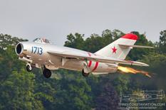 EAA AirVenture Oshkosh - 2021  Mikoyan Gurevich MiG-17F Fresco