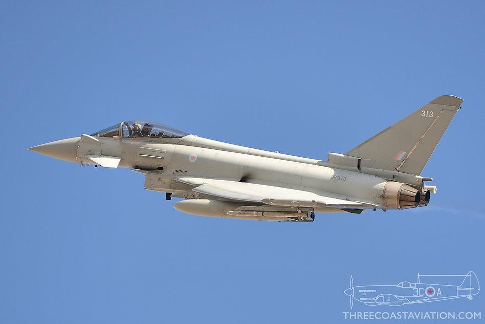 Red Flag 18-1 - RAF FGR4 Typhoon