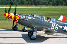 Thunder Over Michigan - 2019  North American P-51B Mustang 'Old Crow'  Jack Roush
