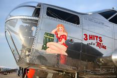 Thunder Over Michigan - 2012  Beechcraft AT-11 Kansan '3 Hits and a Miss'