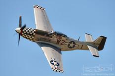 Thunder Over Michigan - 2012  North American P-51D Mustang 'Big Beautiful Doll'