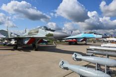 MAKS - 2019  Mikoyan-Gurevich MiG-29 Fulcrum  Mikoyan-Gurevich MiG-35 Fulcrum-F
