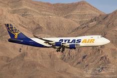Nellis AFB - Jun 11, 2019  Boeing 747-400F  Atlas Air