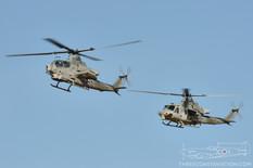 NAF El Centro - Jan 29, 2018  Bell AH-1Z Viper  Bell UH-1Y Venom  United States Marine Corps
