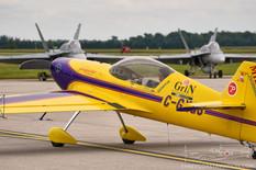 Airshow London - 2018  Giles G-202  Mike Tryggvason - 10g Aerosports