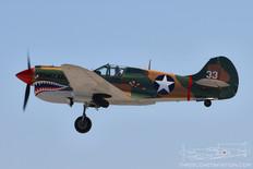 Gathering of Mustangs & Legends - 2007  Curtis P-40 Warhawk