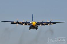 CYYZ - Sep 2, 2009  Lockheed C-130H Hercules 'Fat Albert'  Blue Angels - United States Navy