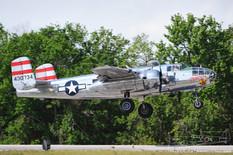 TICO Warbird Airshow - 2012  North American B-25J Mitchell 'Panchito'  Delaware Aviation Museum