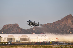 Tucson Air National Guard Base - Feb 20, 2019  McDonnell Douglas F-15C Eagle  114th Fighter Squadron - United States Air National Guard