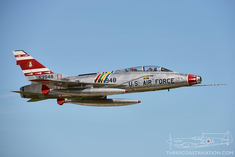 Thunder Over Michigan - 2013 - F-100F Super Sabre