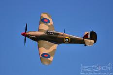 Geneseo Airshow - 2005  Hawker Hurricane