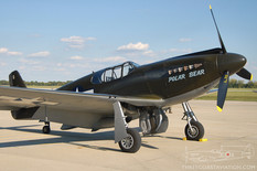 Gathering of Mustangs & Legends - 2007  North American P-51A Mustang 'Polar Bear'
