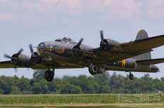 Geneseo Airshow - 2006  Boeing B-17G Flying Fortress 'Memphis Belle'