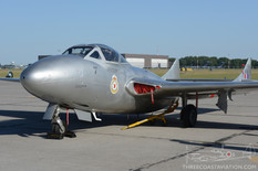 Quinte International Air Show - 2016  de Havilland Vampire  Waterloo Warbirds