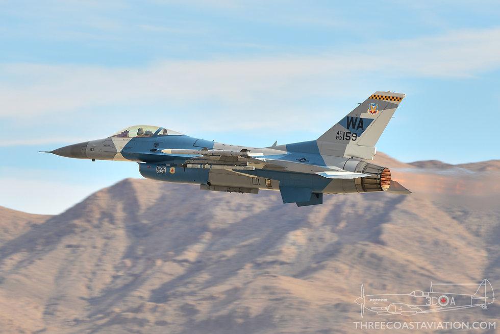 Aviation Nation - 2016 - Aggressor F-16 Departs