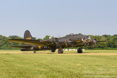 Geneseo Airshow - 2012  Boeing B-17G Flying Fortress 'Movie Memphis Belle'