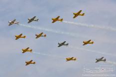 Thunder Over Michigan - 2014  North American Harvard/SNJ/T-6 Texan