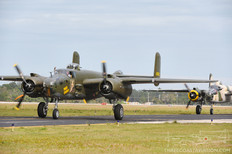TICO Warbird Airshow - 2012  North American B-25J Mitchell 'Wild Cargo'  Military Aviation Museum