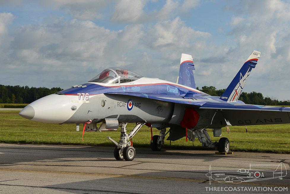 Airshow London - 2018 - CF-18 Demo Team