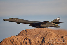 Nellis AFB - Jun 1, 2021  Rockwell B-1B Lancer  28th Bomb Squadron - United States Air Force