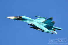 MAKS - 2019  Sukhoi Su-34 Fullback