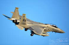 Nellis AFB - Nov 5, 2019  McDonnell Douglas F-15C Eagle  433rd Weapons Squadron - United States Air Force