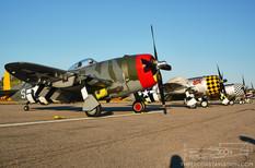 Thunder Over Michigan - 2007  Republic P-47D Thunderbolts