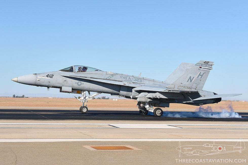 NAF El Centro Photocall - 2016 - F/A-18C Hornet
