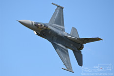 Thunder Over Michigan - 2019  General Dynamics F-16C Fighting Falcon  F-16 Viper Demonstration Team