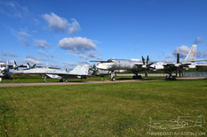Central Air Force Museum  Mikoyan-Gurevich MiG-29 Fulcrum  Tupolev Tu-95MS Bear-H