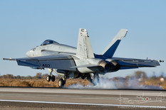 NAS Fallon - Oct 30, 2019  Boeing F/A-18E Super Hornet  VFA-105 Gunslingers - United States Navy