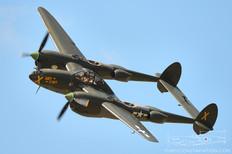 Thunder Over Michigan - 2012  Lockheed P-38L Lightning 'Ruff Stuff'  Fagen Fighters WWII Museum