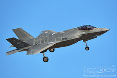 Nellis AFB - Dec 5, 2019  Lockheed Martin F-35A Lightning II  422nd Test and Evaluation Squadron - United States Air Force