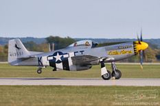 Gathering of Mustangs & Legends - 2007  North American P-51D Mustang 'Little Horse'