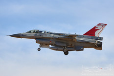 Luke AFB - Jan 30, 2018  General Dynamics F-16D Fighting Falcon  425th Fighter Squadron 'Black Widows' - Republic of Singapore Air Force