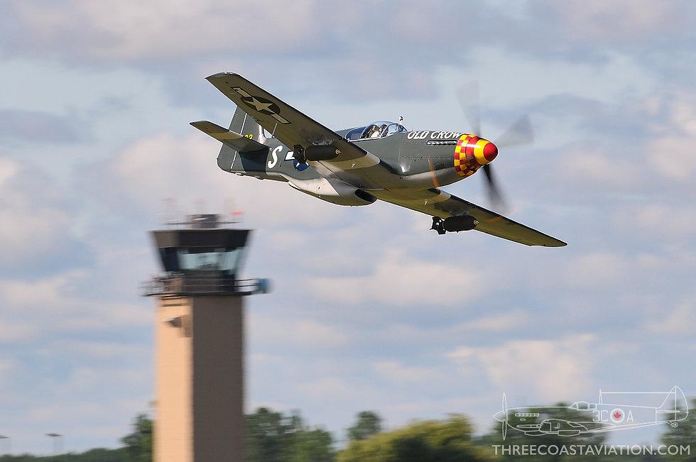 Thunder Over Michigan - 2009 - P-51B 'Old Crow'