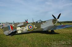 Geneseo Airshow - 2007  Supermarine Spitfire Mk IX  Russell Aviation Group